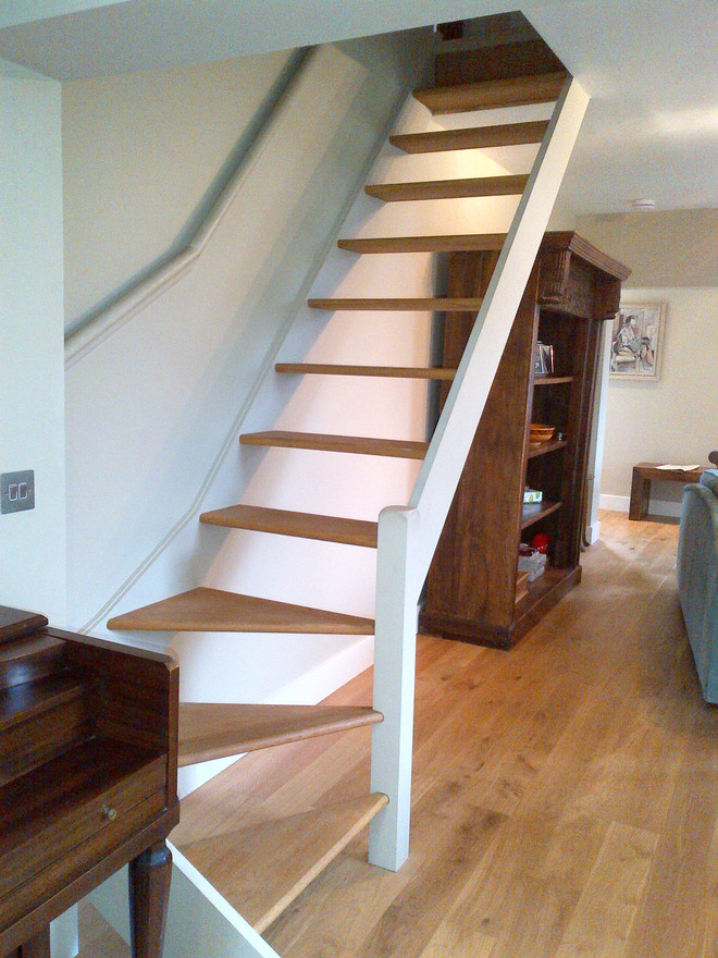 Case study 1303 mawer tkstairs for Open staircase