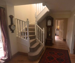 5773 Davies. Standard specification winder stair with turned ...