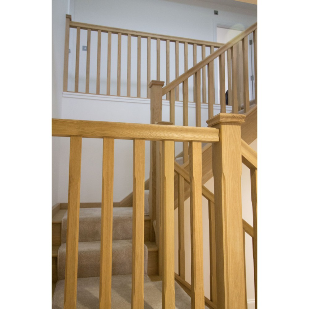 White Oak Trademark HDR Handrail