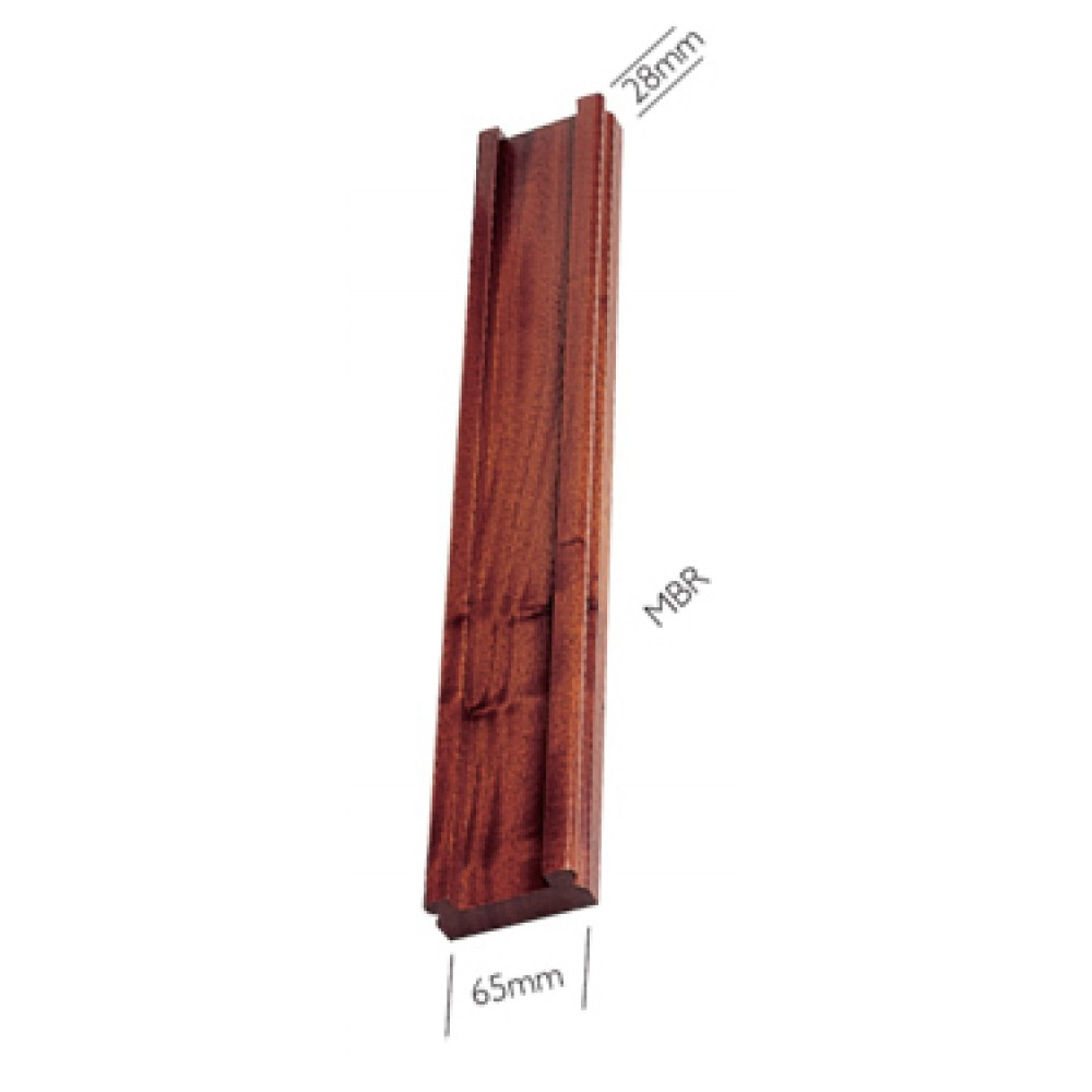 Sapele Signature Bottomrail 32mm Groove