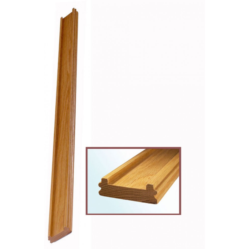 White Oak Craftmans Choice Bottomrail 56mm Groove
