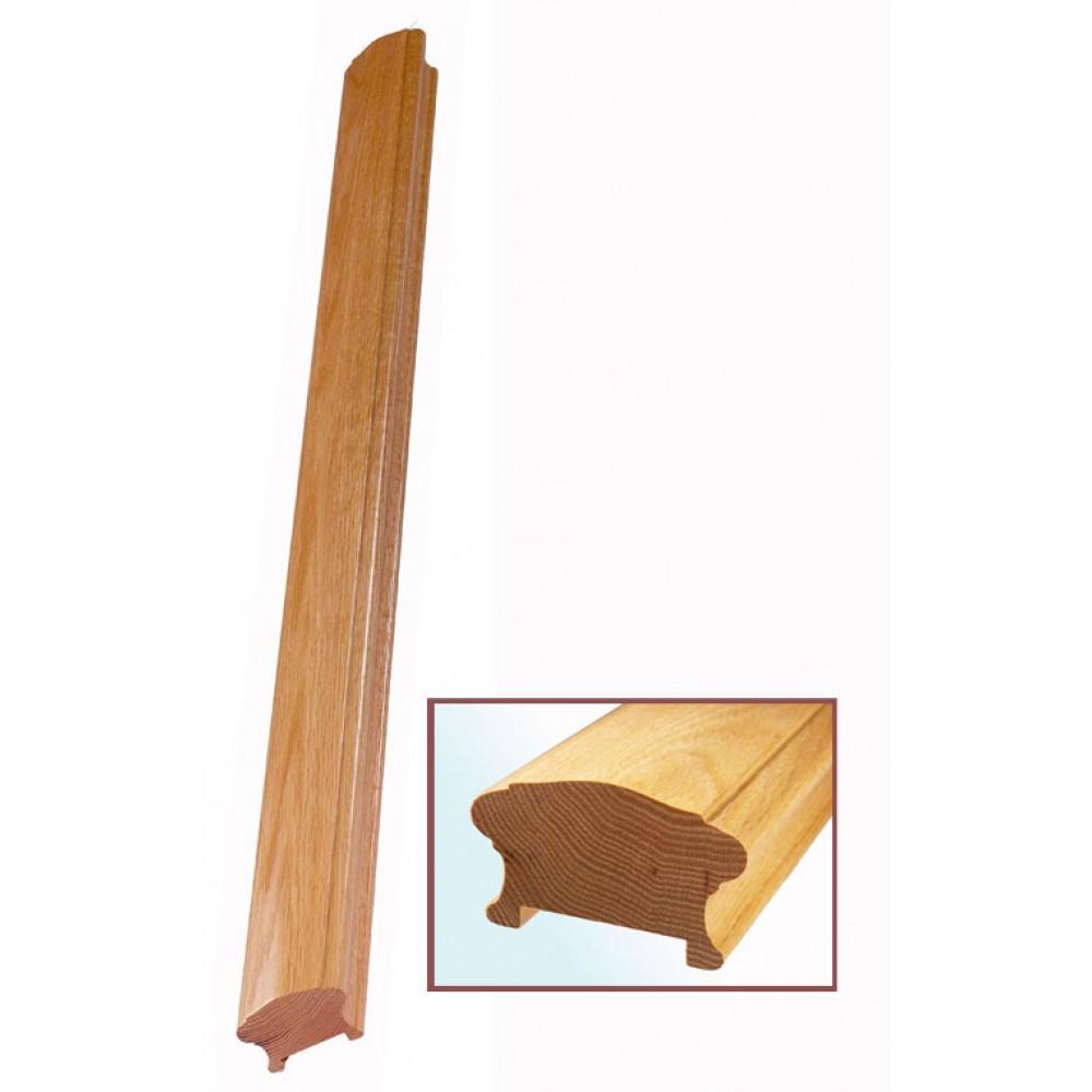 White Oak Craftmans Choice Handrail 56mm Groove