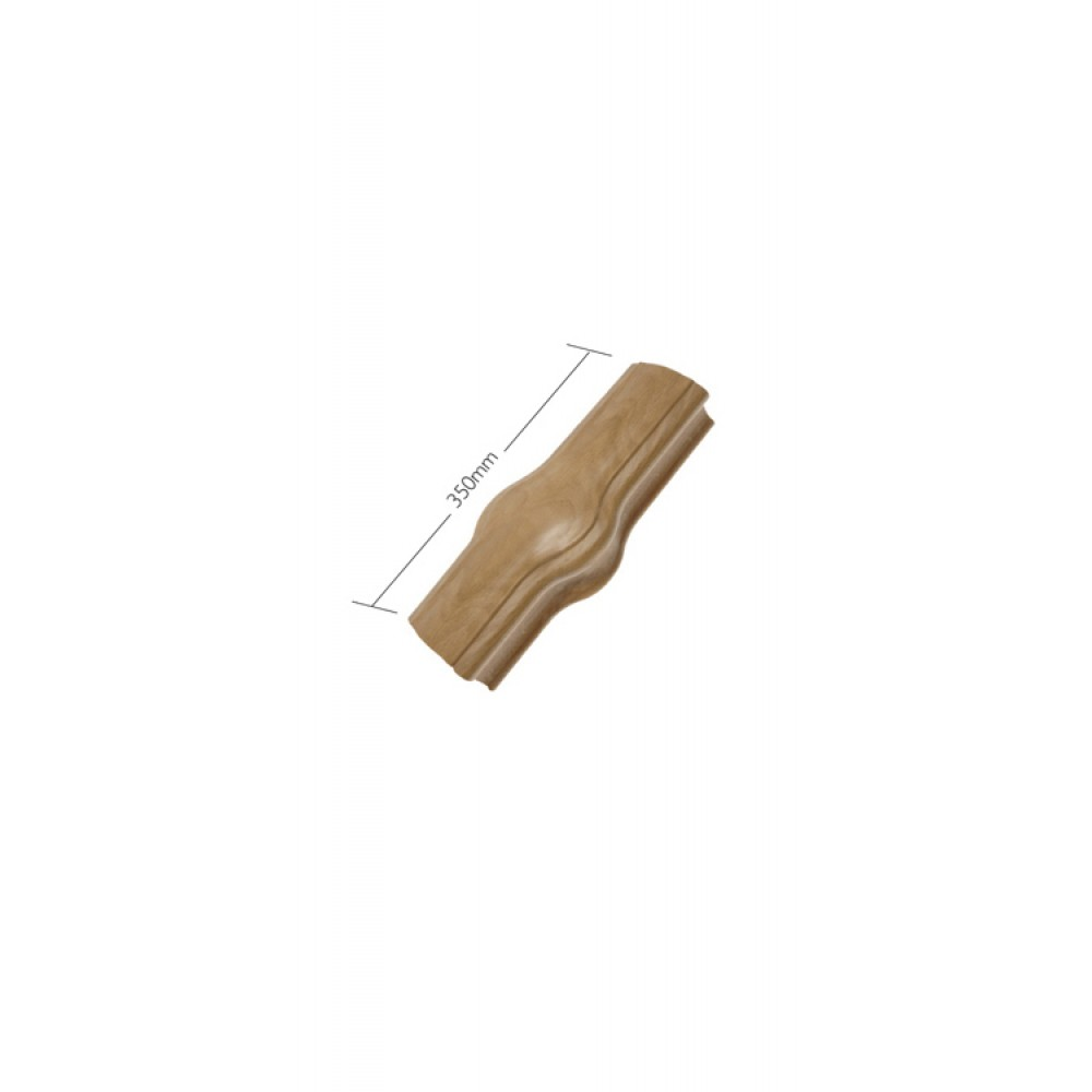 White Oak Craftmans Choice Handrail Newel Joint