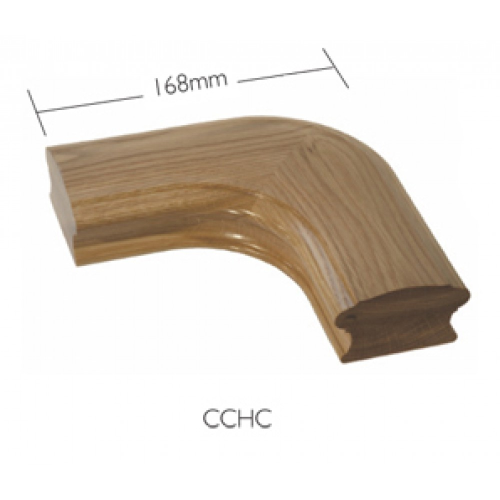 White Oak Craftmans Choice Horizontal Corner Piece