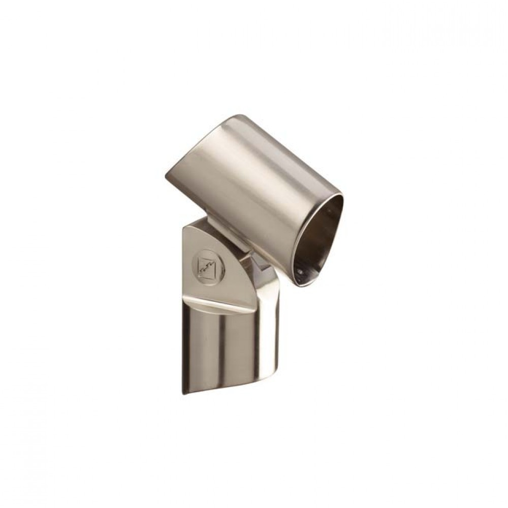 Fusion Intermediate Newel Connector Brushed Nickel Finish