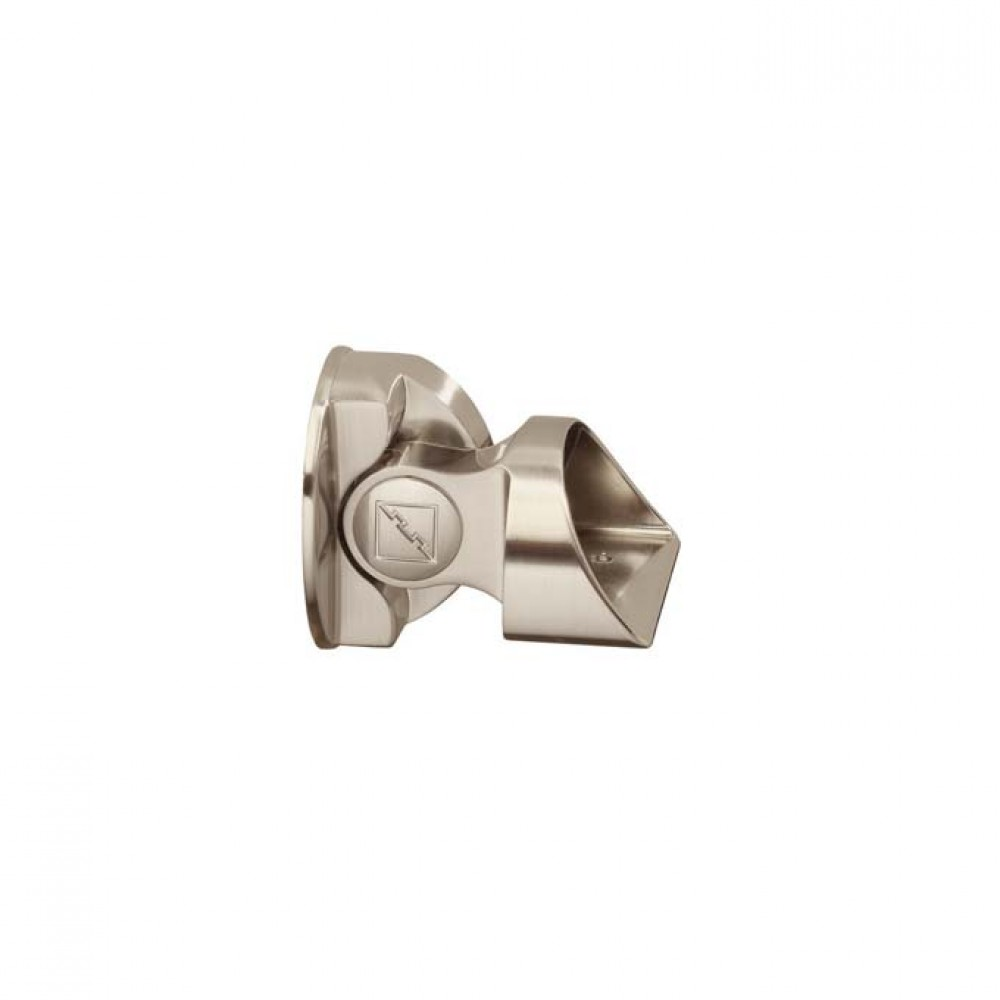 Fusion Suspended Baserail Connector Brushed Nickel Finish