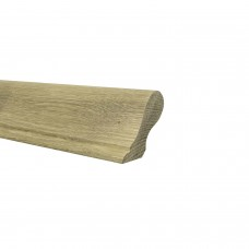 White Oak Sows Ear Handrail