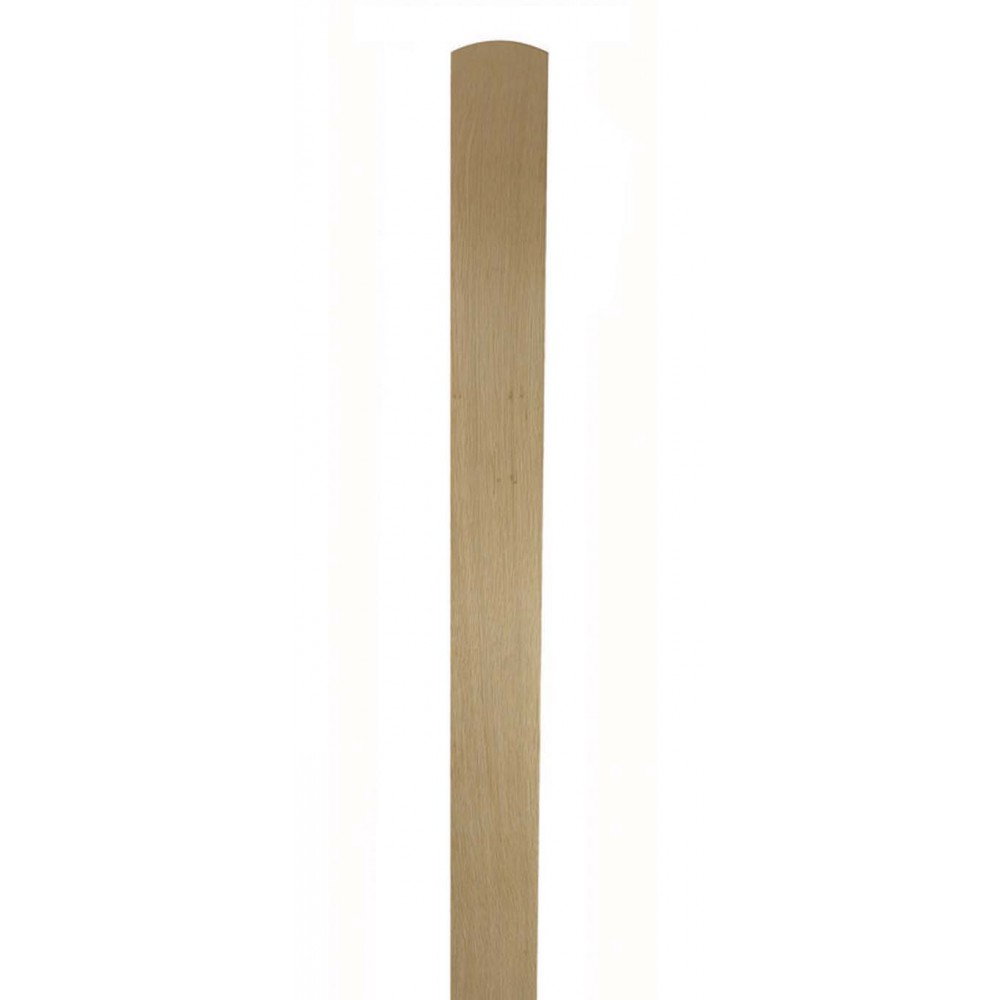 White Oak 115mm Drilled Newel Base