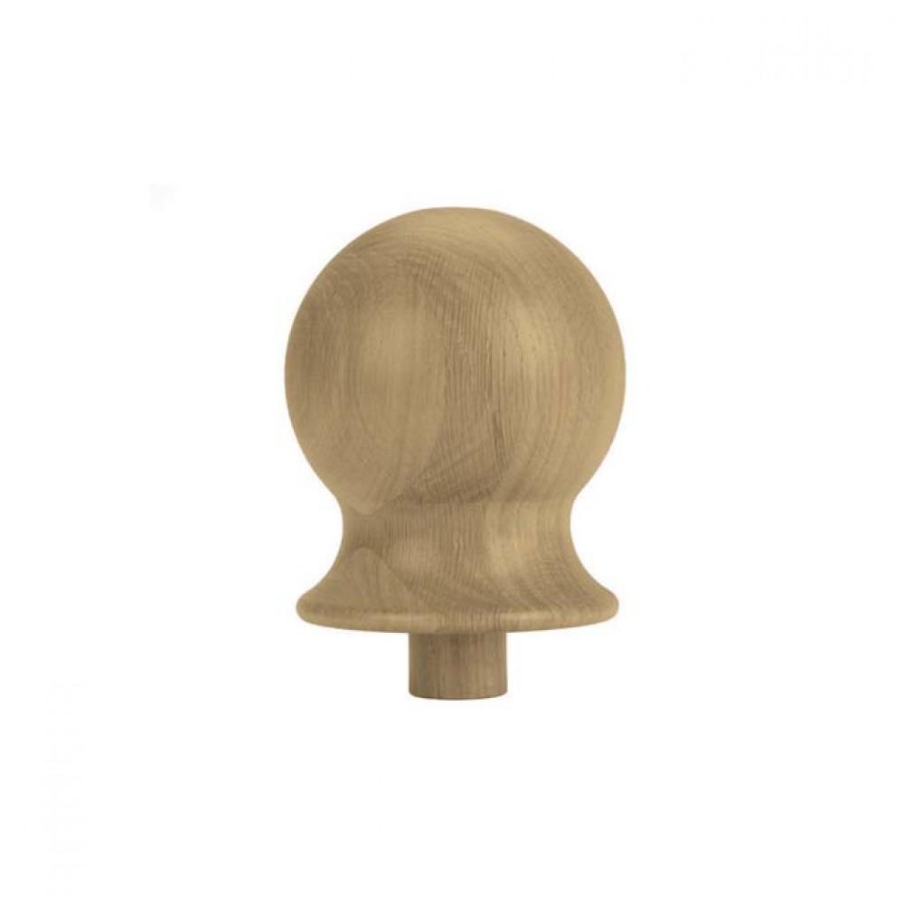 White Oak Heritage Ball Cap For 115mm Turning