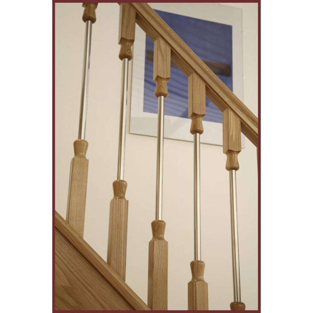 Ikon Newel Base 682mm Drop