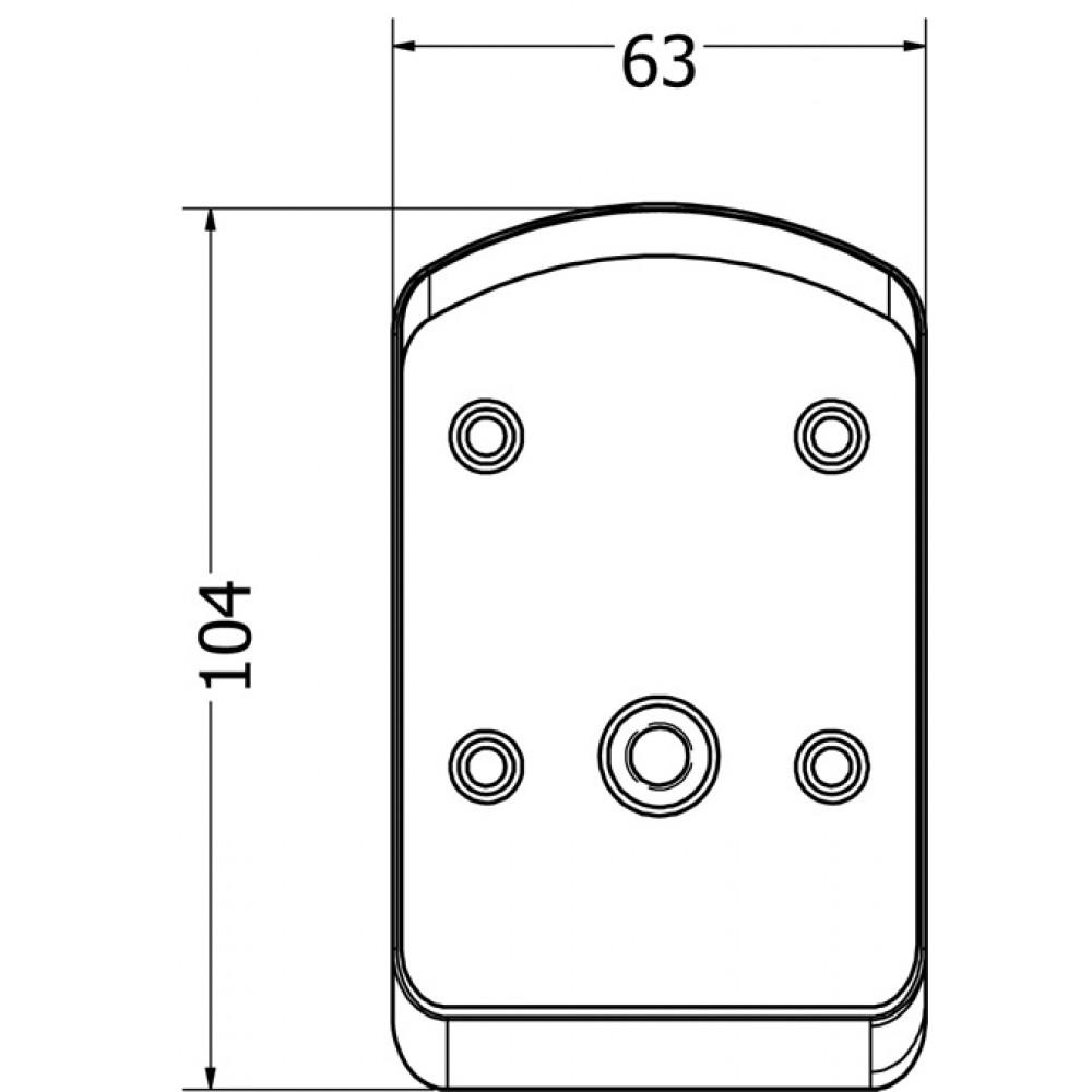 Immix Bottom Connector Zinc Alloy