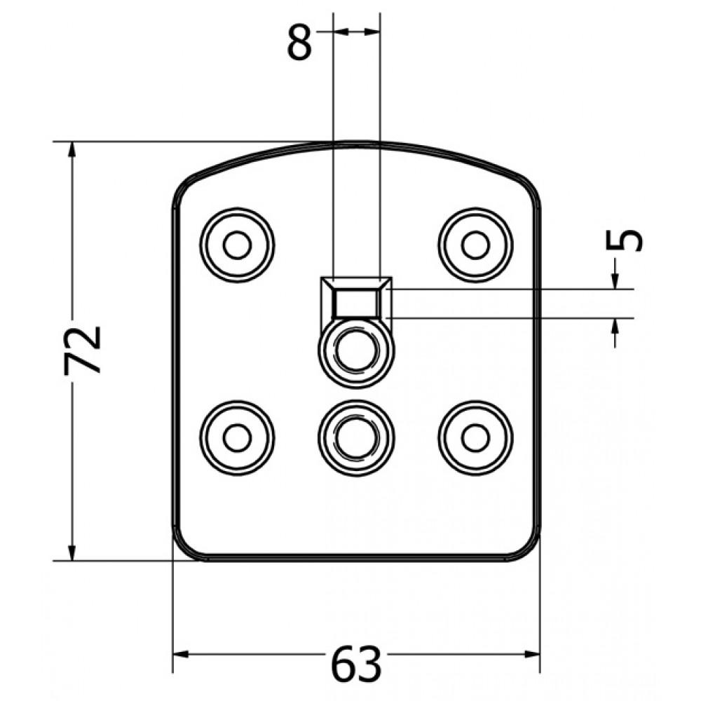 Immix Landing Connector Zinc Alloy