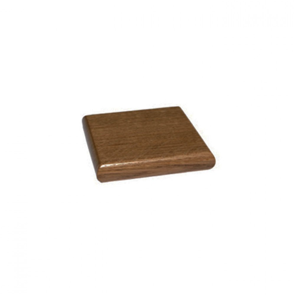 Sapele Flat Patress Cap for 90x90mm Post