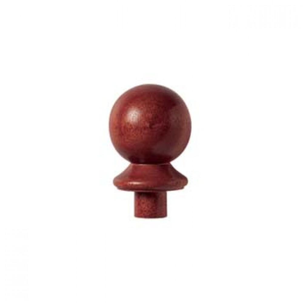Sapele Signature Ball Cap for 90x90mm Post