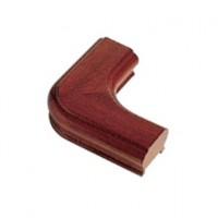 Sapele Signature Handrail Horizontal Corner Piece product image