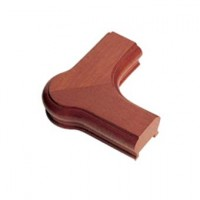 Sapele Signature Handrail Newel Corner product image