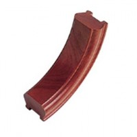 Sapele Signature Handrail Upramp 90 degrees product image