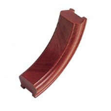 Sapele Signature Handrail Upramp 90 degrees