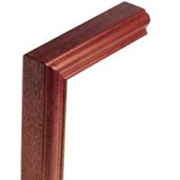 Sapele Signature Handrail Vertical mitre product image