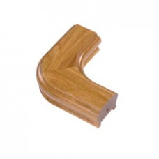 White Oak Signature Handrail Horizontal Corner Piece