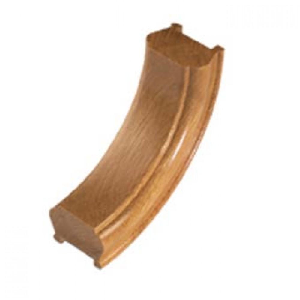 White Oak Signature Handrail Upramp 90 degrees