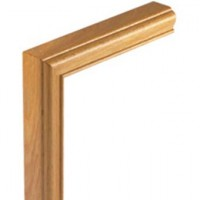 White Oak Signature Handrail Vertical mitre product image