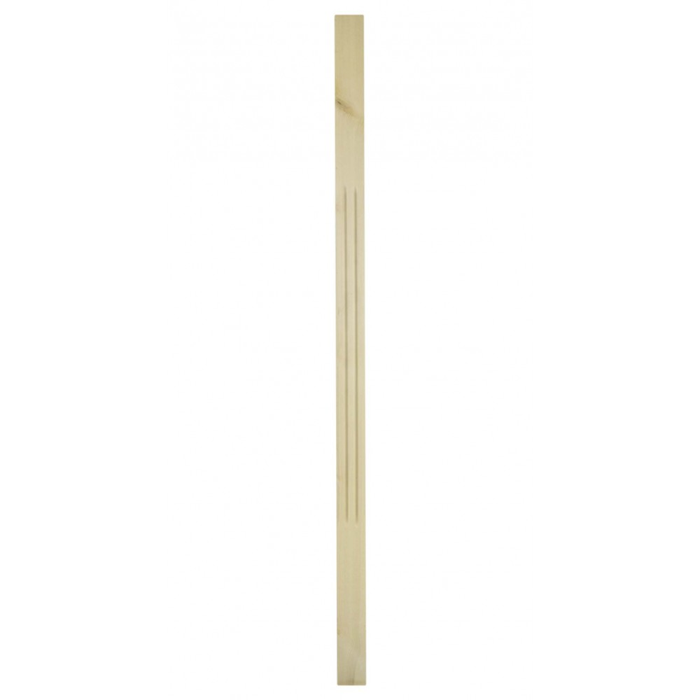 41mm Pine Trademark Chamfered Flute Spindle