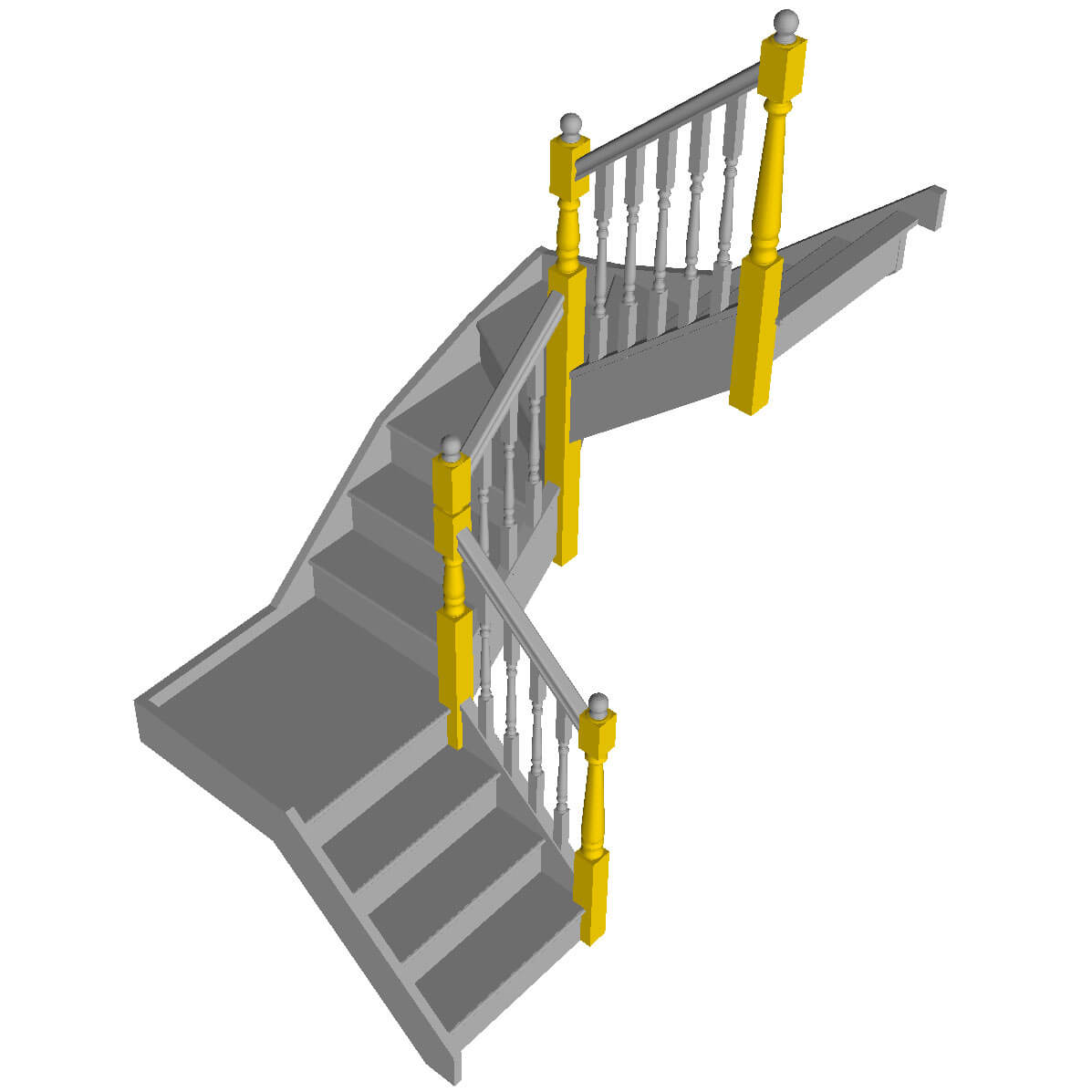 Post to Post Newel Turnings post image