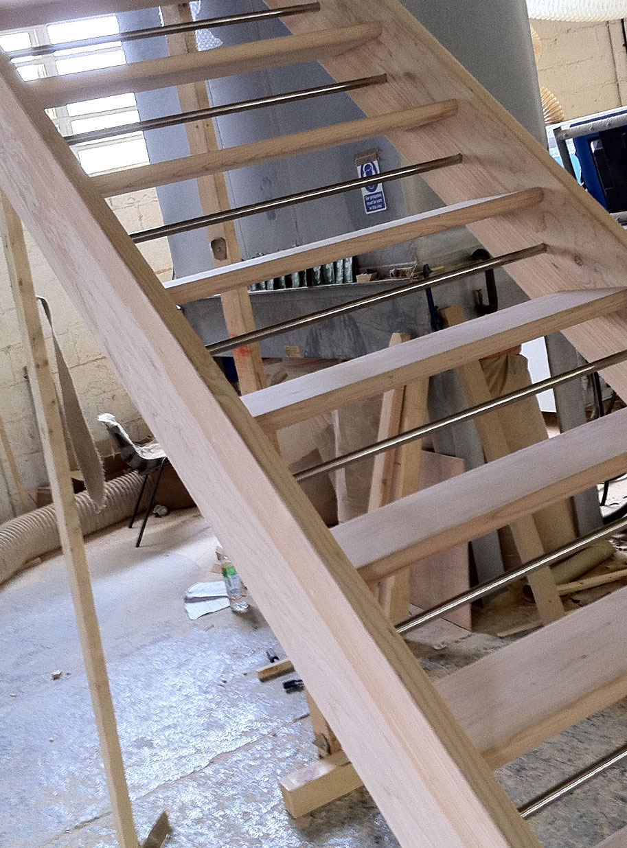 tkstairs advise on domestic building regulations - Building Stairs