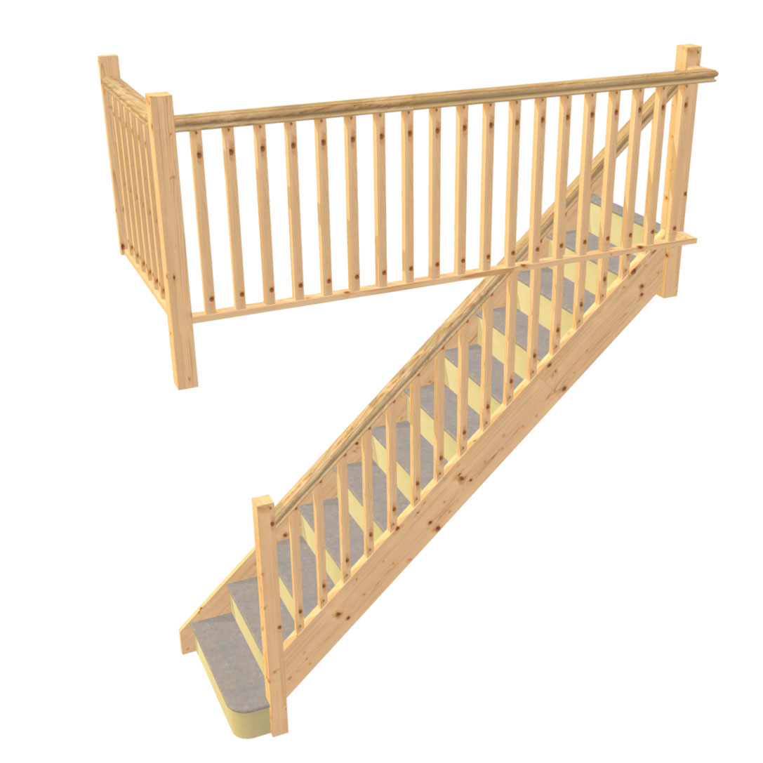 Design timber stairs and staircases online